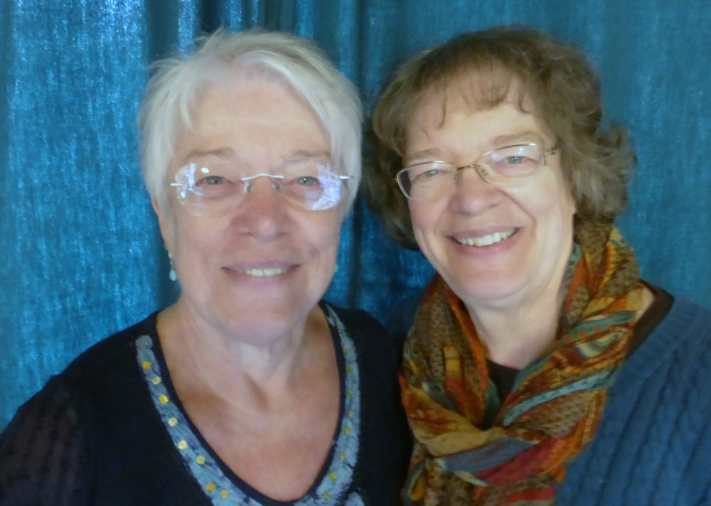 Nancy Lee Chong and Janice Baehr, founders of Pacific Rim Quilt Company