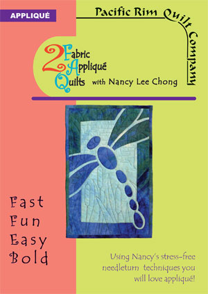 2 Fabric Applique DVD with Nancy Lee Chong