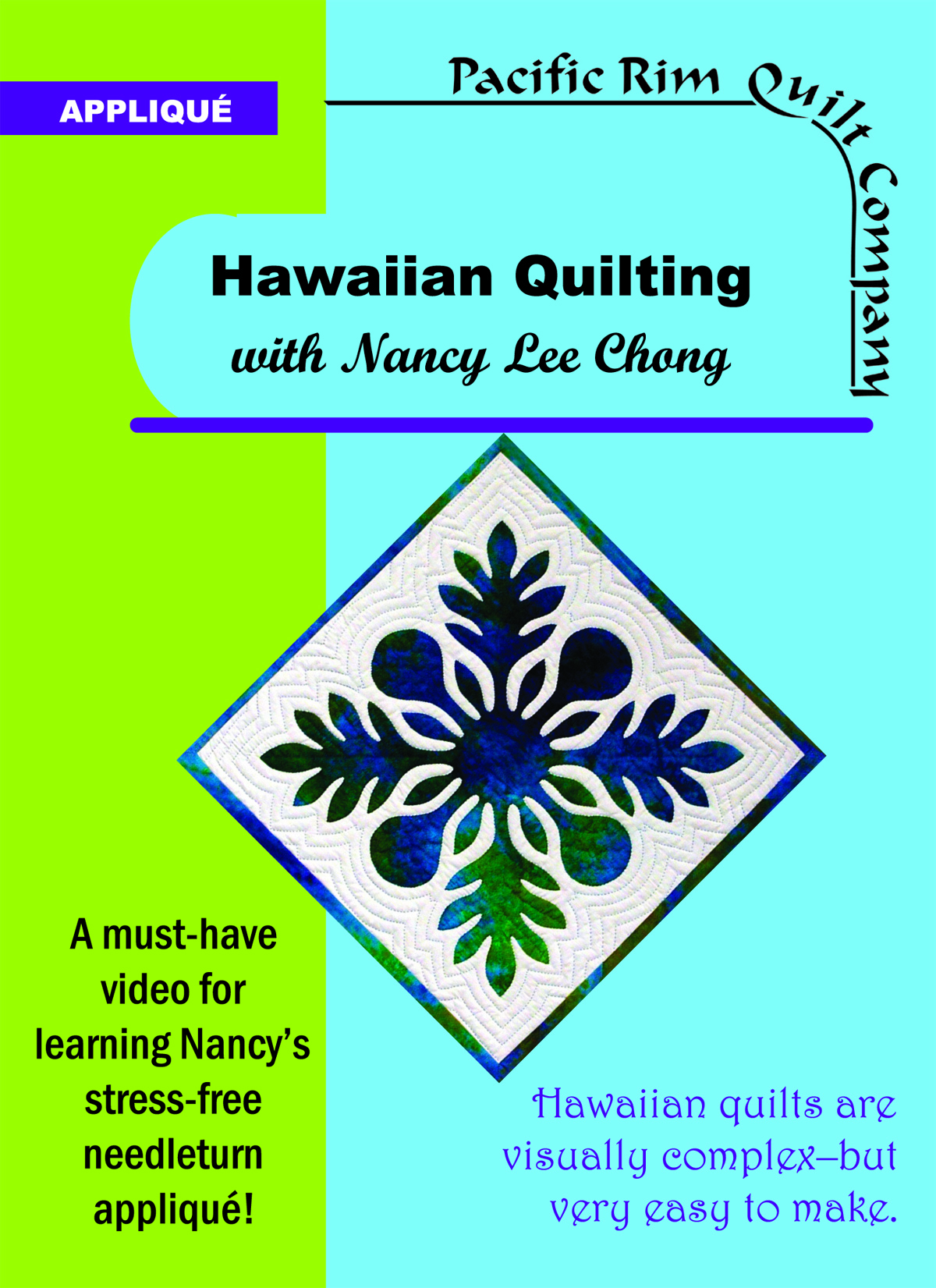 Hawaiian Quilting DVD with Nancy Lee Chong
