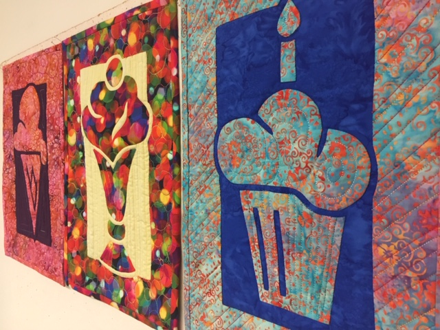 Just Desserts 2 Fabric Applique Class Quilts
