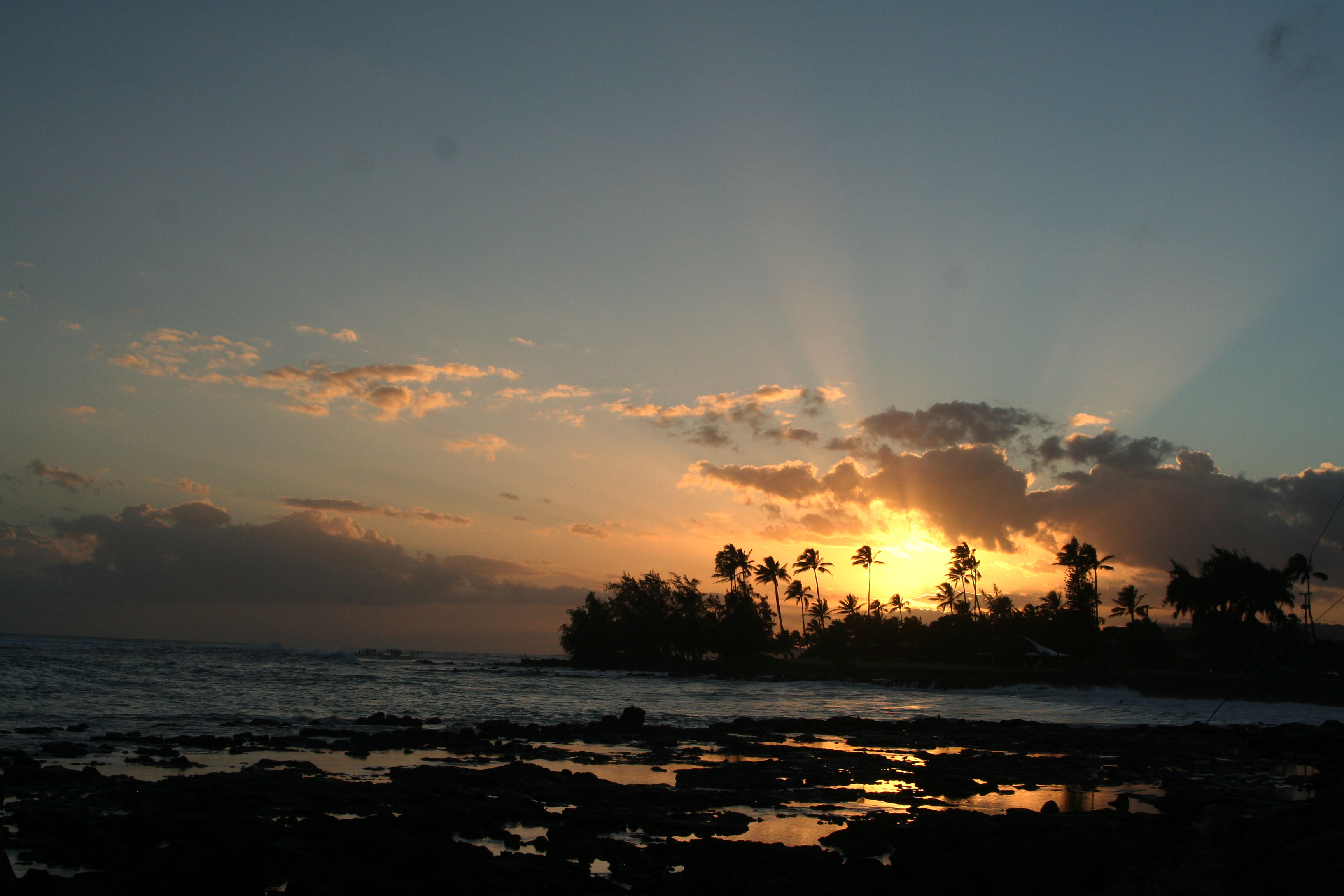 Kauai Sunset by Connie Johnson Sayler