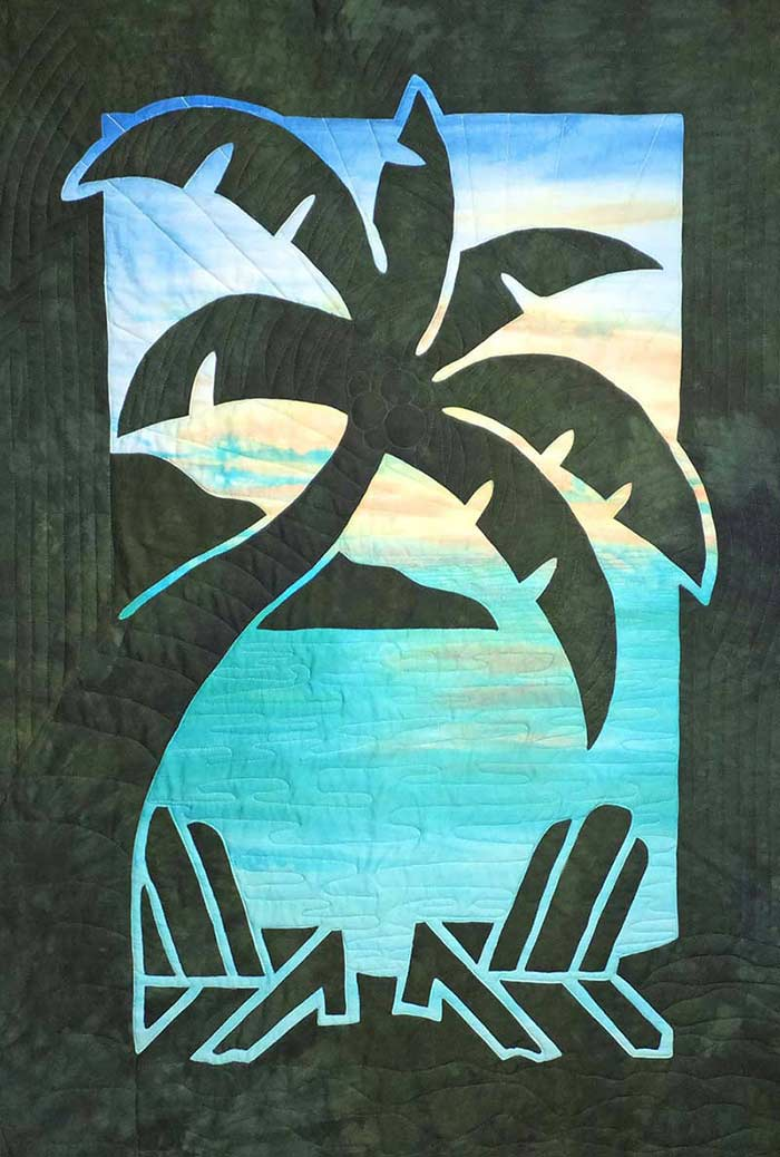 Pacific Rim Quilt Company Hawaiian Applique Quilt